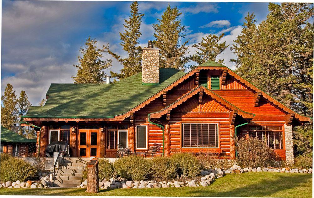 blockhaus in der jasper park lodge foto bild north america canada the west bilder auf. Black Bedroom Furniture Sets. Home Design Ideas