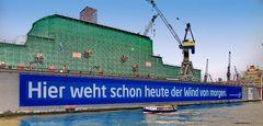Blohm + Voss Dock 10 in Hamburg