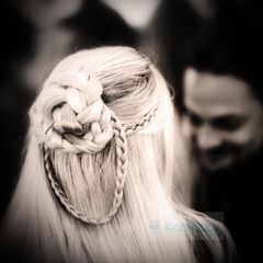 ...blond...