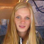 Blondes Mädchen