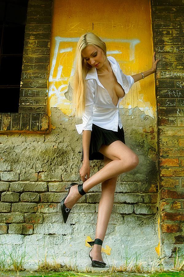 Blondie Foto & Bild | fashion, outdoor, frauen Bilder auf