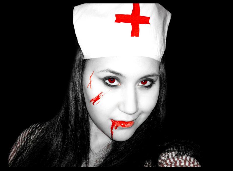 bloody nurse!...