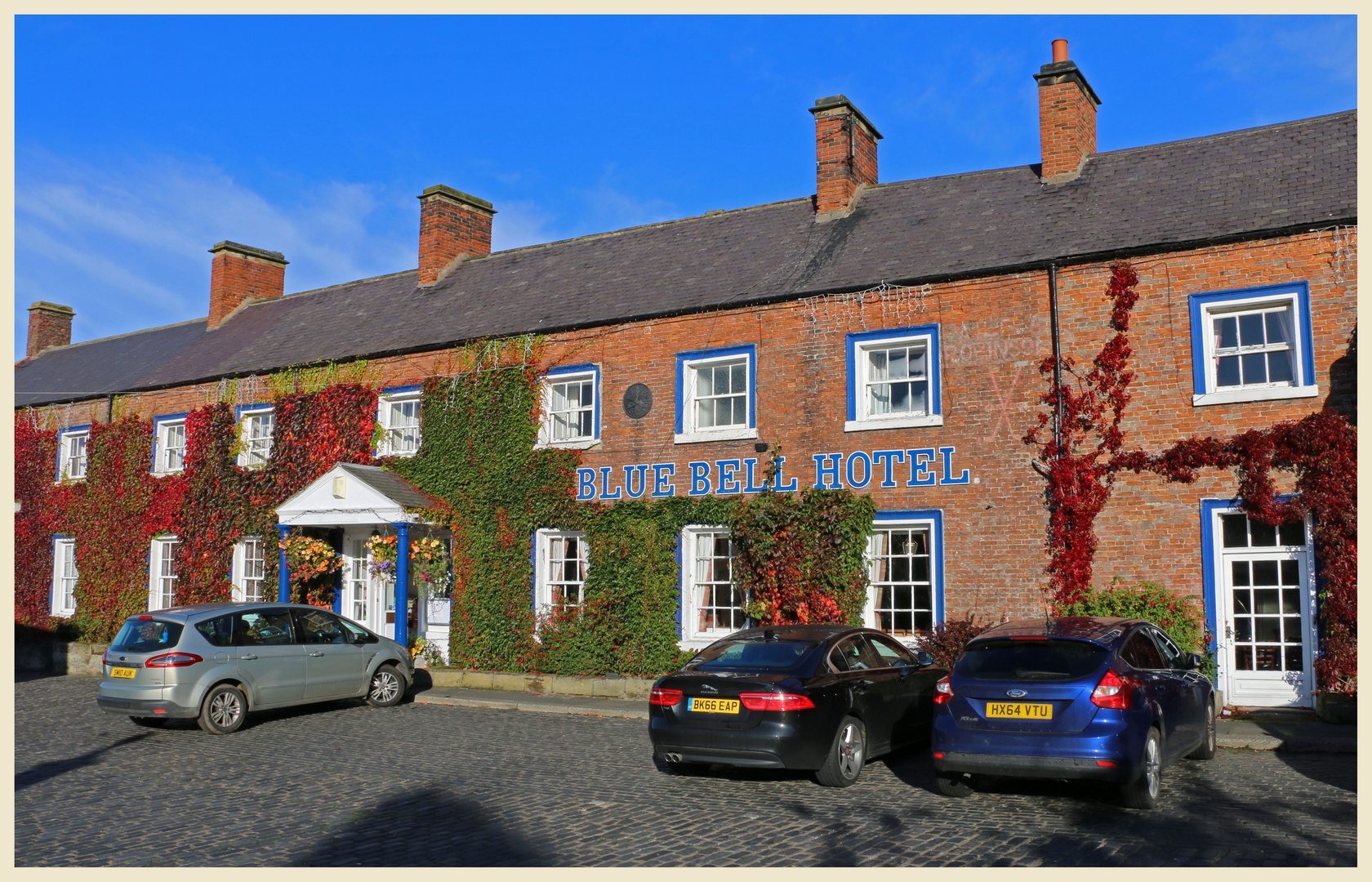 Blue bell hotel belford Northumberland