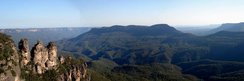 Blue Blue Mountains