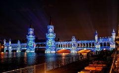 Blue Bridge in Berlin
