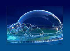Blue bubbles