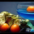 *blue cocktail*
