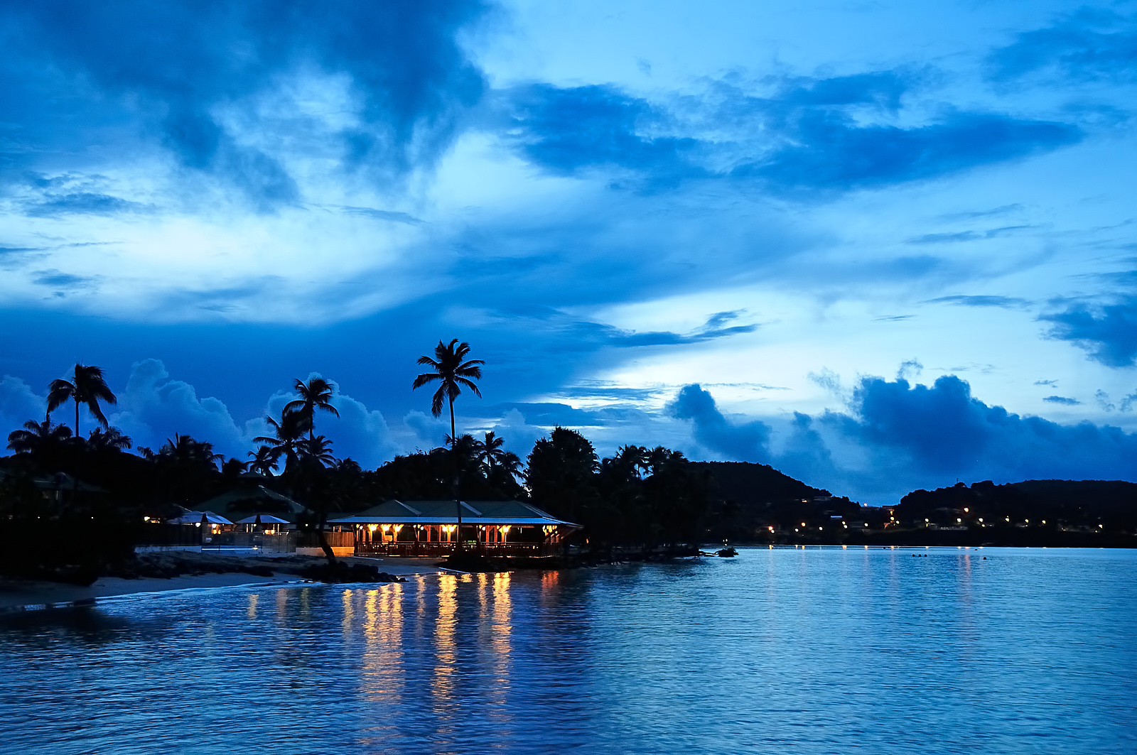 Blue daybreak