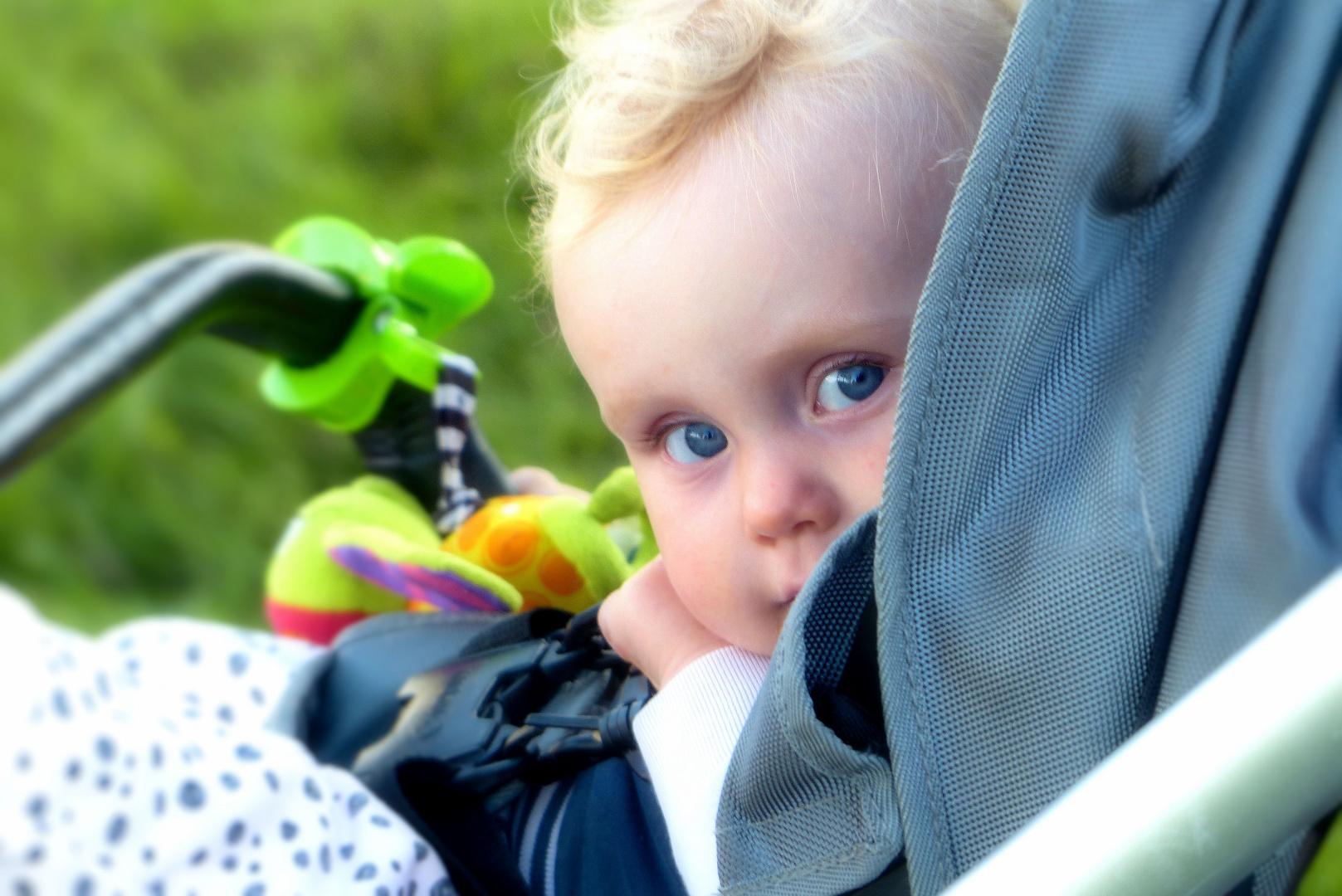 ...  blue eyed baby boy