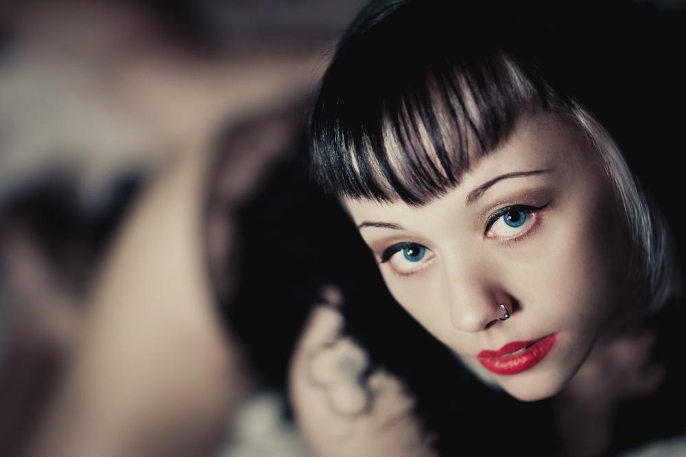 blue eye's........