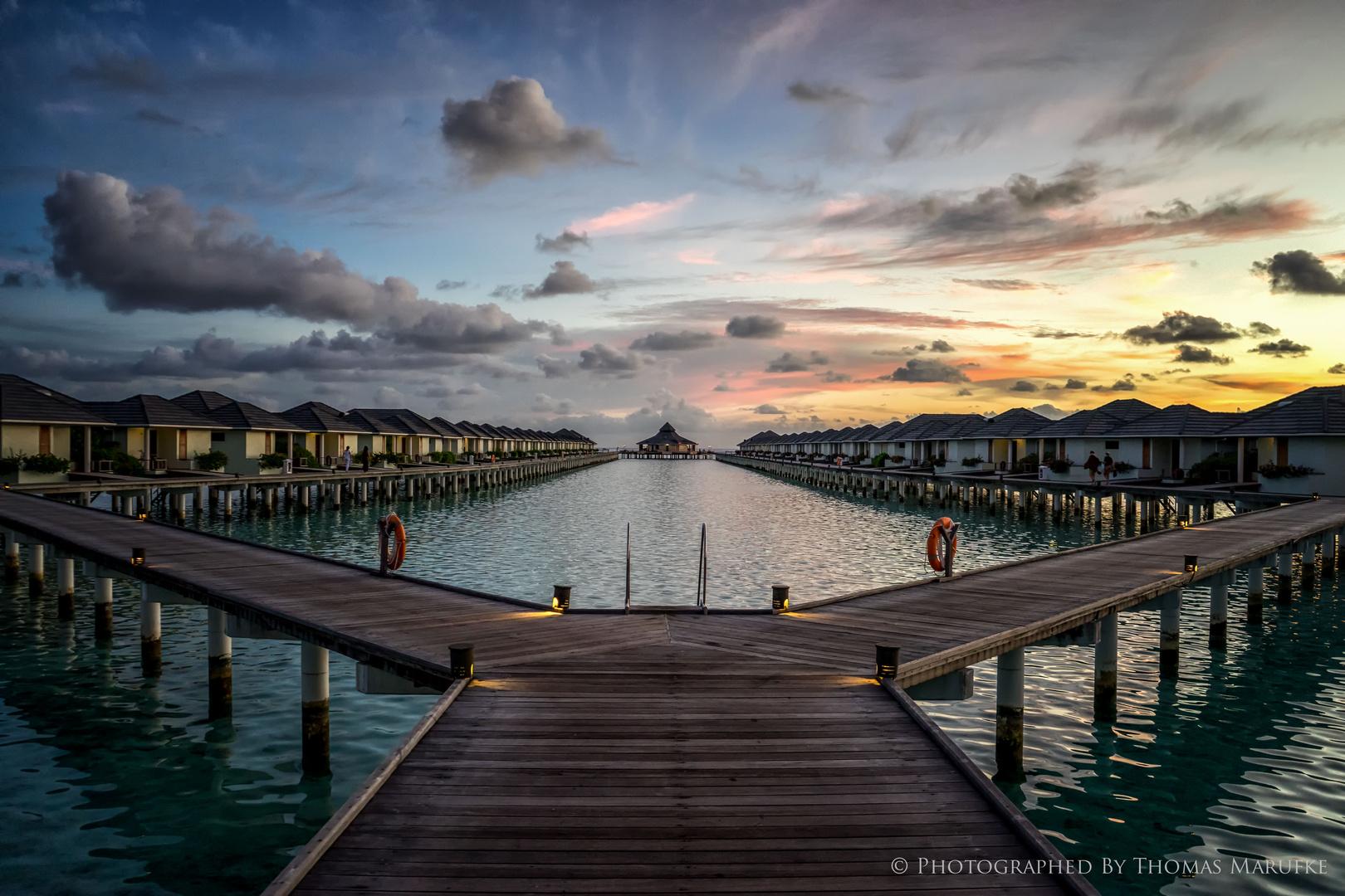 Blue Hour On Sun Island
