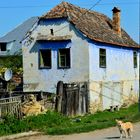 blue house in romania