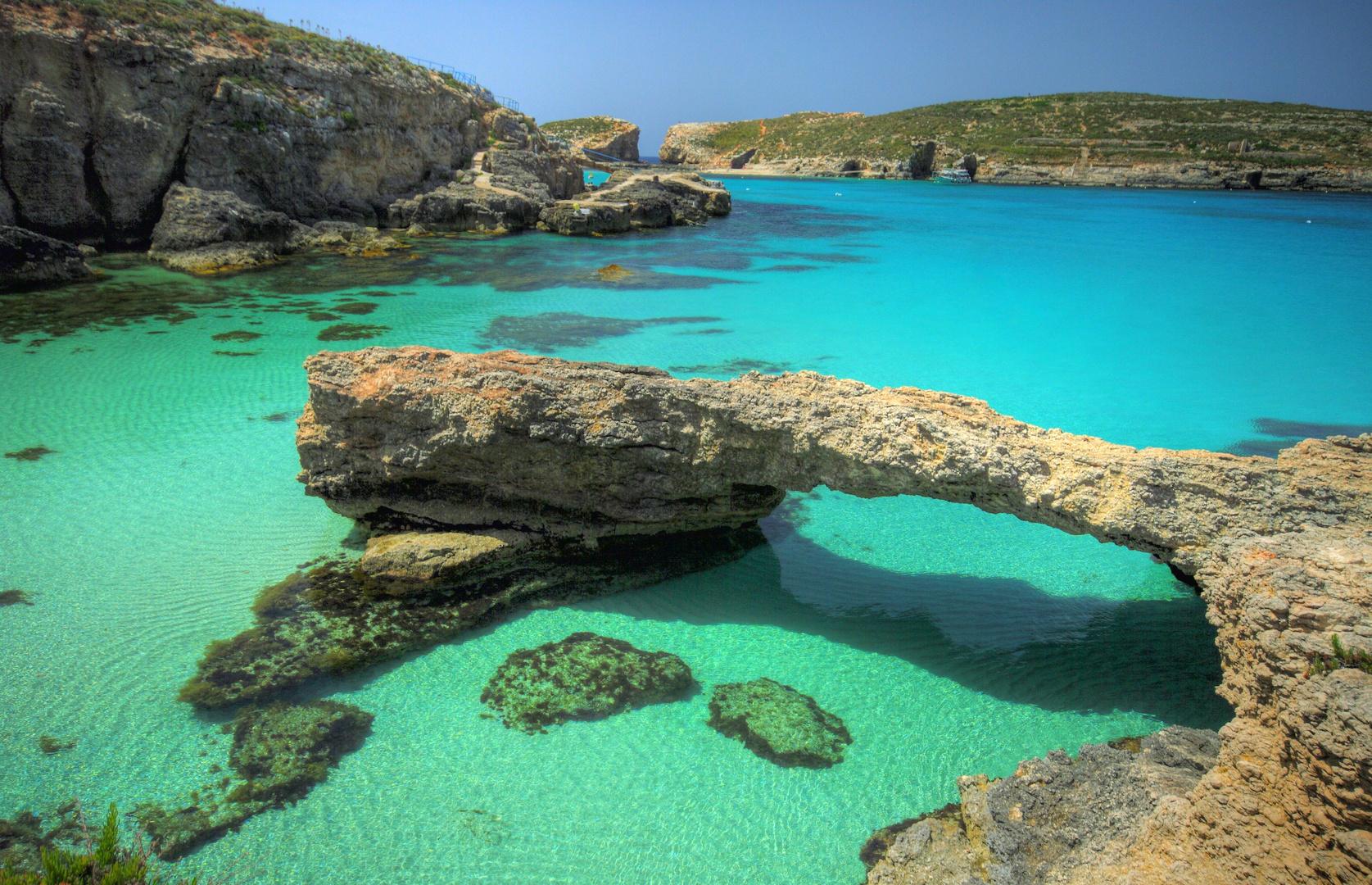 Blue Lagoon Comino Malta Photo Image Landscape