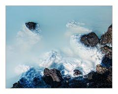 Blue Lagoon ganz abstrakt