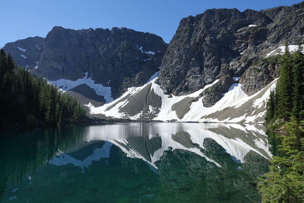 Blue Lake - North Cascades