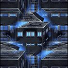 Blue Lighted Offices