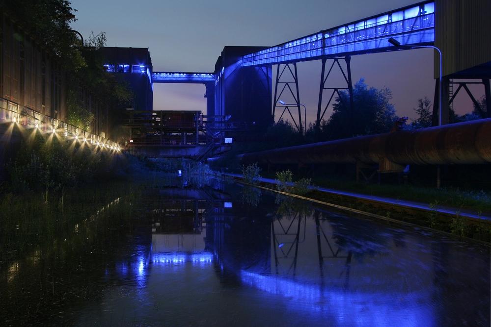 Blue Line - Kokerei Hansa in Dortmund