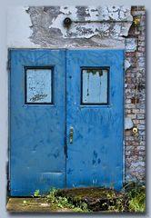 Blue Monday Door