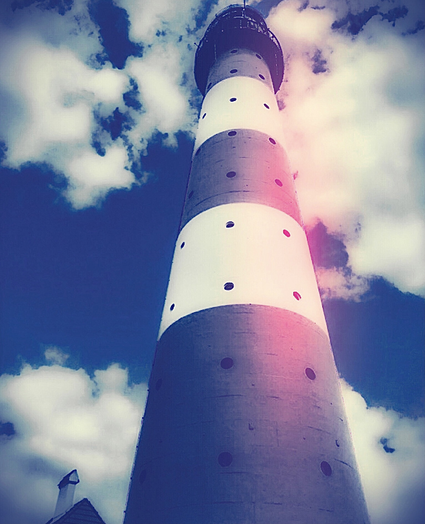 Blue Monday- Ein Leuchtturm bis zum Himmel