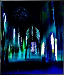 Blue Monday- Nachtblau