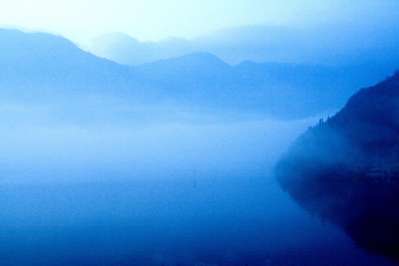 Blue Mood on Lake Como