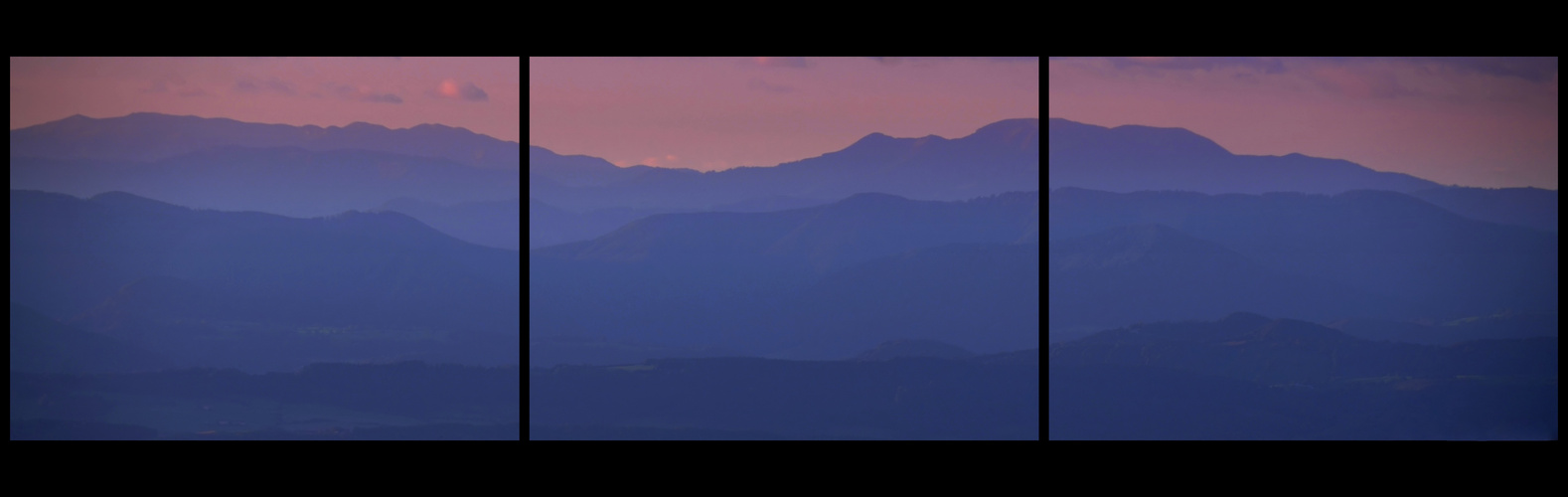blue mountains triptychon