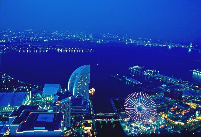 Blue Night Yokohama