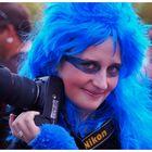 Blue Nikon