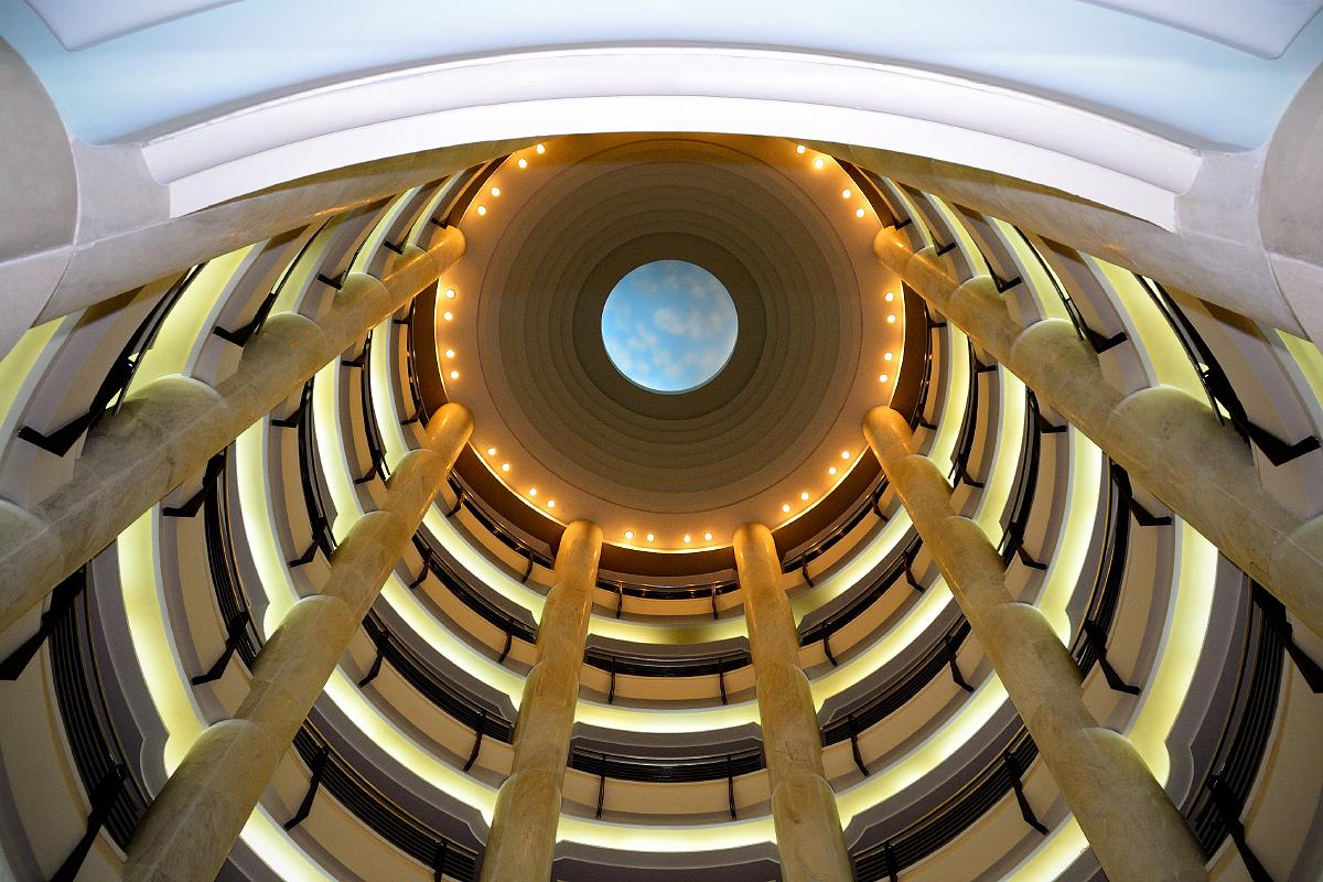 """""""Blue planet"""" architecture"""