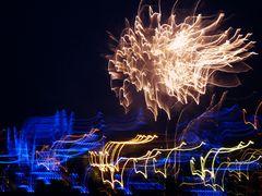 Blue Port, Feuerwerk , Tele, Tremor und........