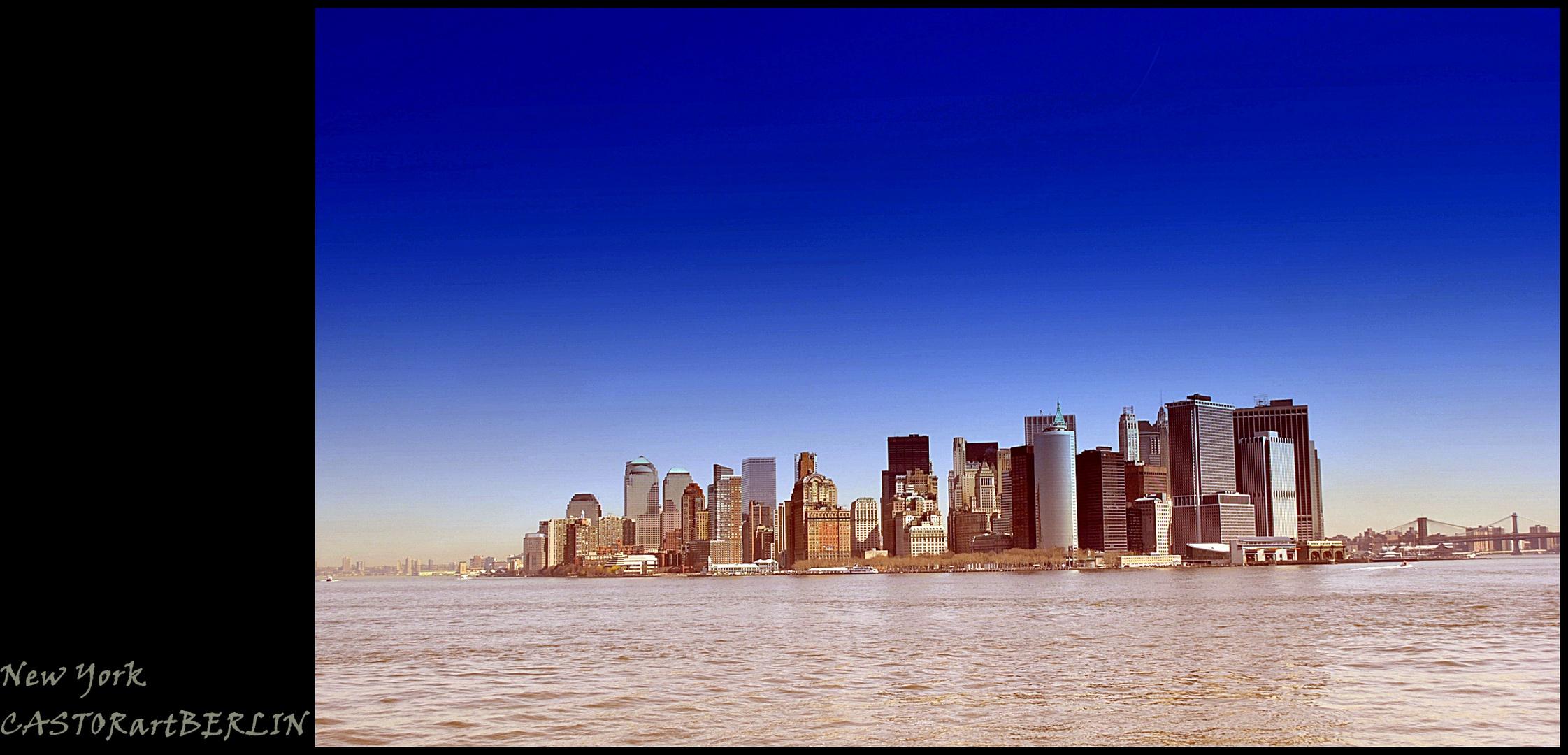 Blue Sky at NY
