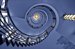 * blue spiral *