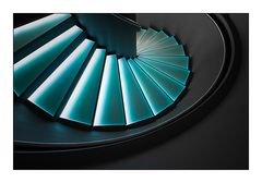 [ Blue stairs ]