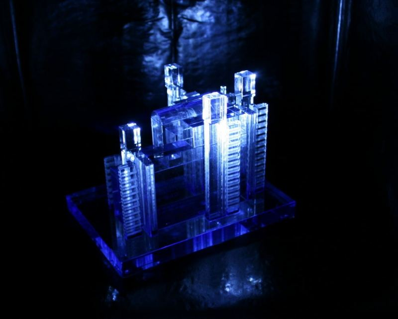 Blue Tower (X)