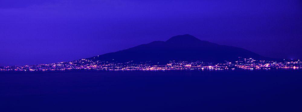 blue vulcano
