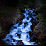 _blue waterfall_