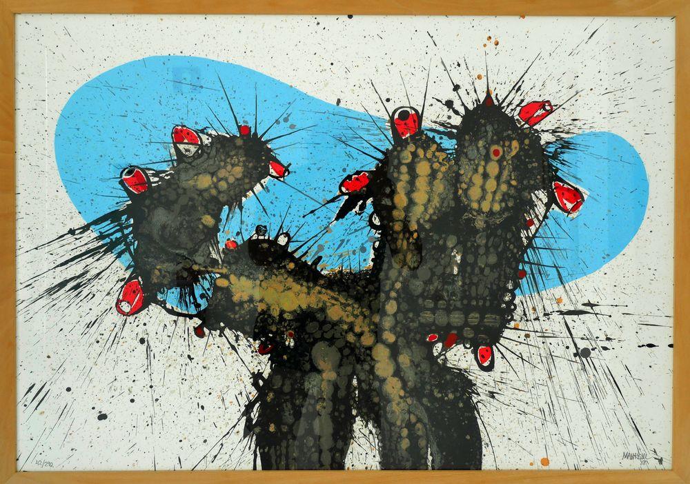 """"""" Blühender Kaktus """""""