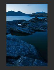 blueish lighthouse