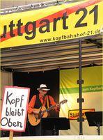 BLUES für KOPFBahnhof K21 Stuttgart Mai13
