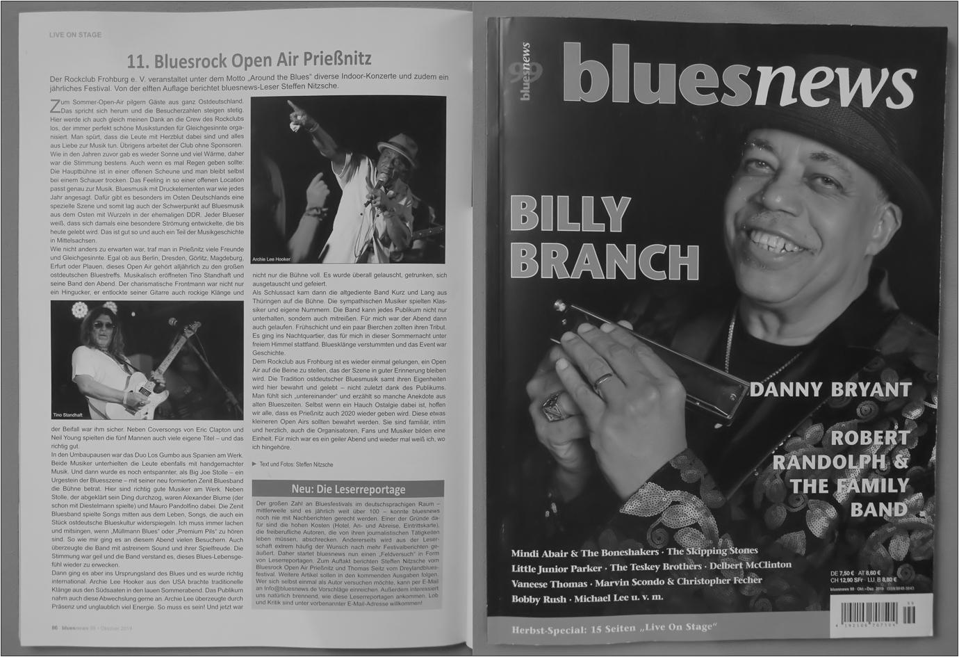 Blues News Herbst 2019