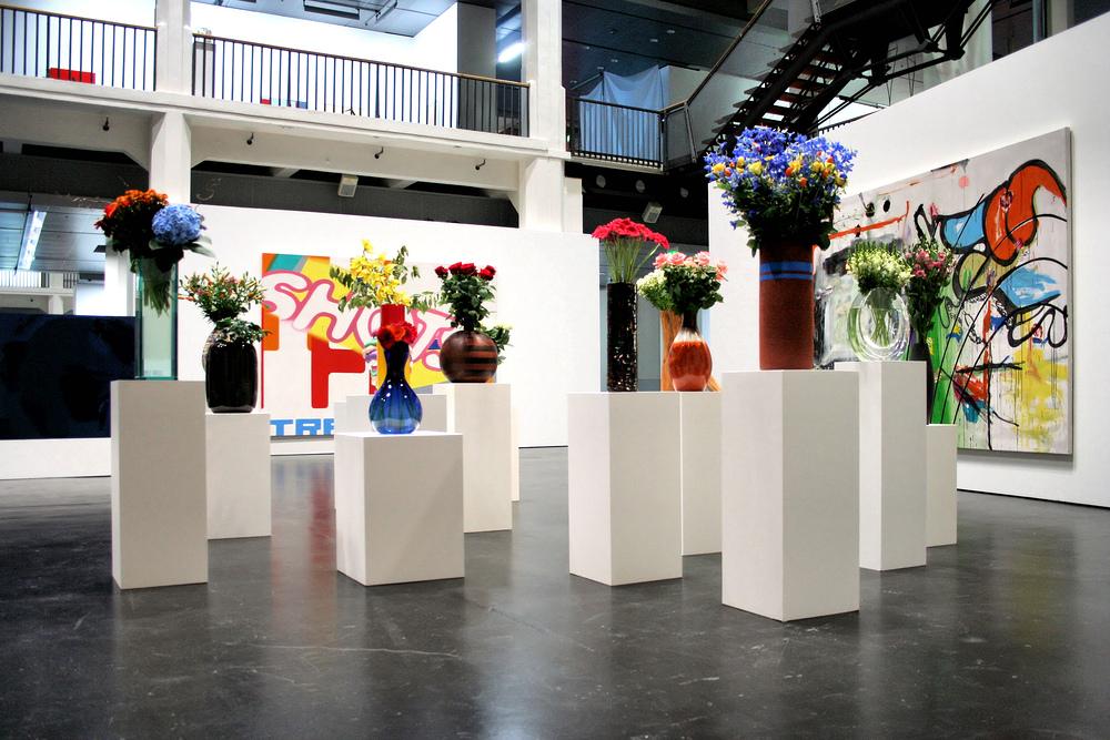 Blumen-Arrangements im ZKM
