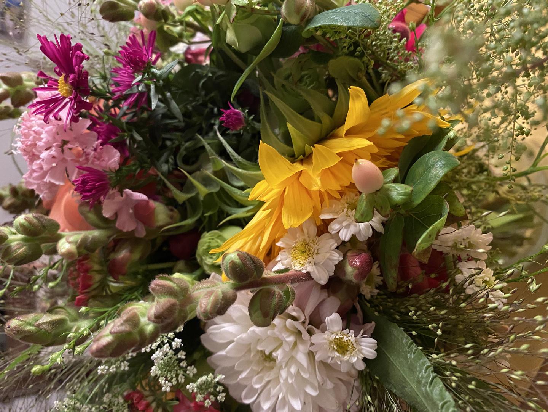 Blumen der Freude und Leichtigkeit