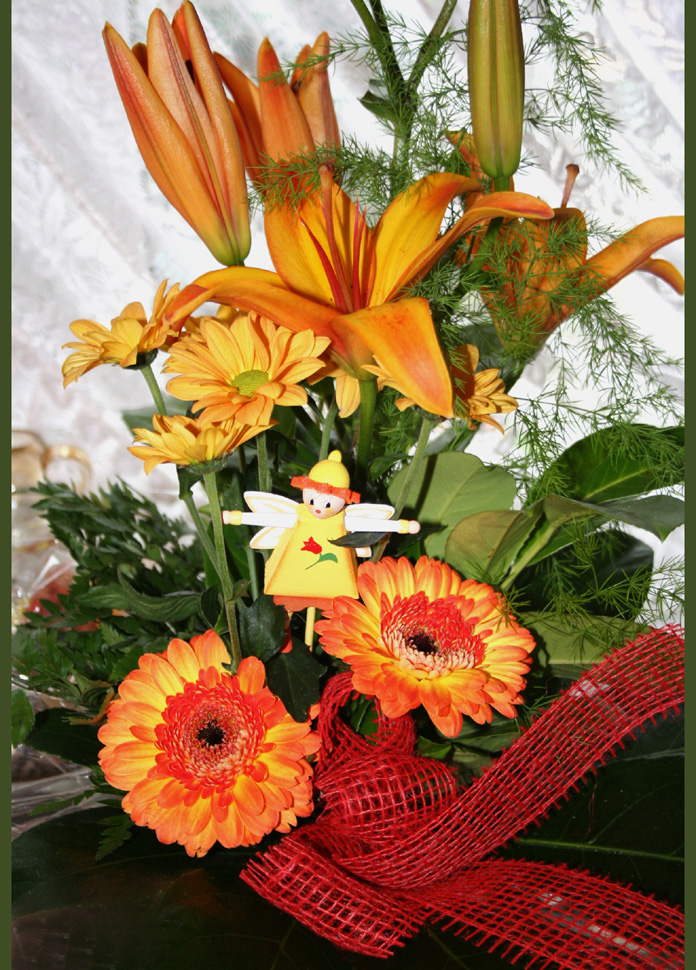 Blumen vom Kusscousin