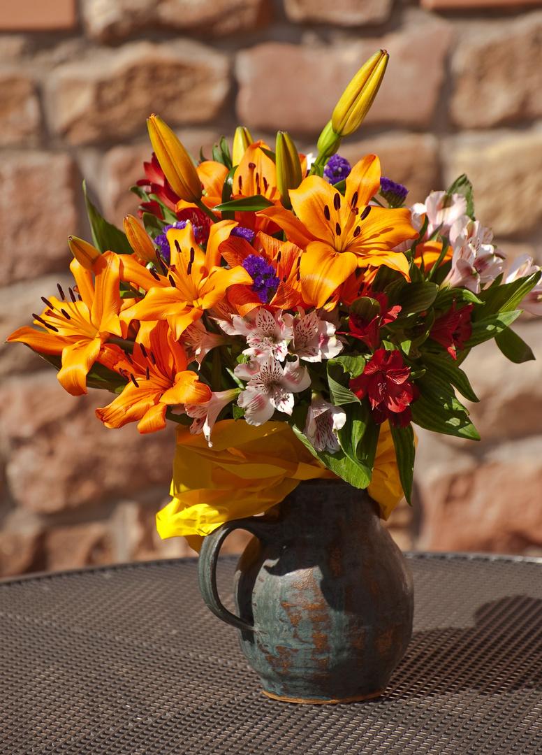 Blumen zum 50. Geb.
