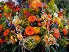 Blumenbukett zum Wiener Erntedankfest