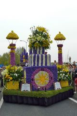 Blumencorso am Keukenhof Holland