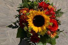Blumengruß kreativ