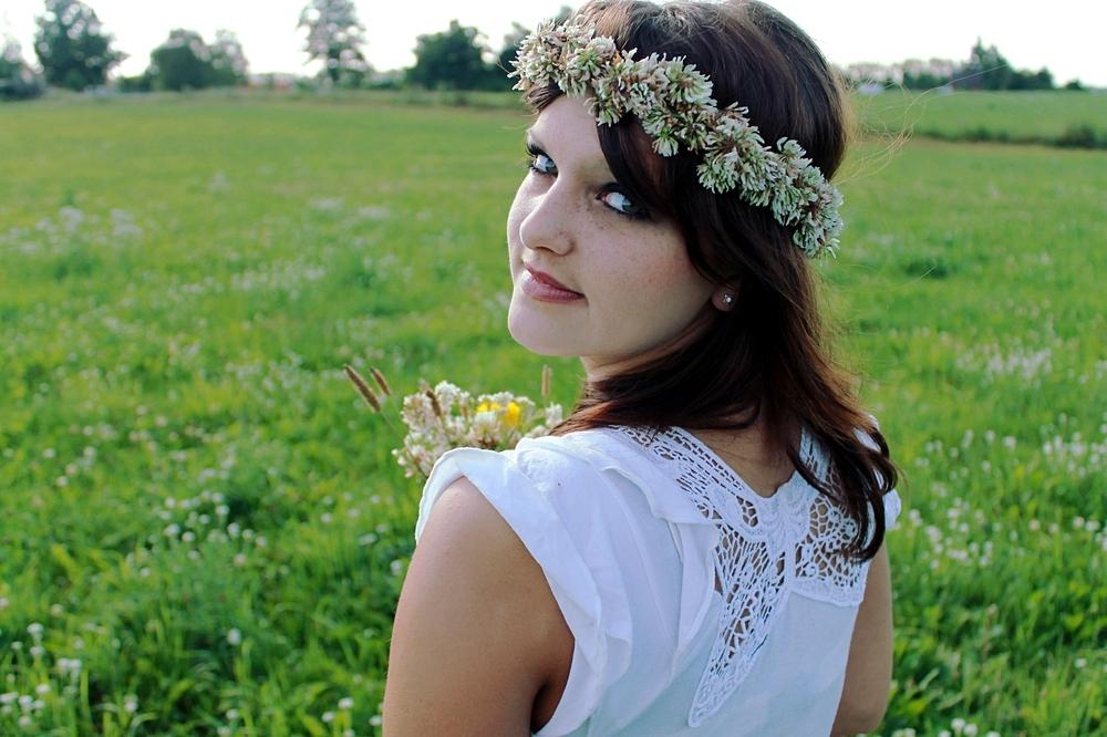 -Blumenmädchen-