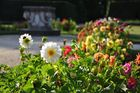 Blumenpracht im Schloß Lednice, CZ