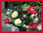 Blumenschmuck am Meidlinger Friedhof